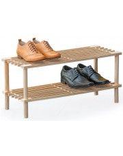 Drewniany stojak na buty Randon - sosna w sklepie Edinos.pl