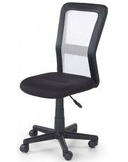 Wentylowany fotel obrotowy dla ucznia Fargo - biały