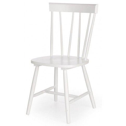 Skandynawskie krzesło Oskin - białe w sklepie Edinos.pl