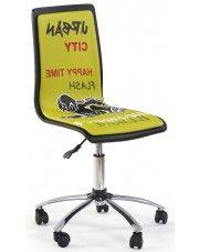 Fotel młodzieżowy Gimmer - żółty
