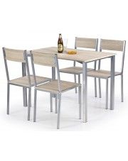 Stół z krzesłami Amares w sklepie Edinos.pl