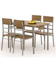 Stół z krzesłami Dastin
