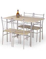 Stół z krzesłami Danter w sklepie Edinos.pl