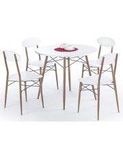 Stół z krzesłami Rexin