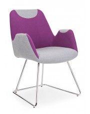Fotel wypoczynkowy Marvin - fioletowy w sklepie Edinos.pl