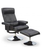 Fotel wypoczynkowy z podnóżkiem Delix w sklepie Edinos.pl