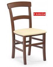 Krzesło drewniane Caper - 5 kolorów w sklepie Edinos.pl