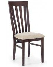 Krzesło drewniane Carter - ciemny orzech w sklepie Edinos.pl