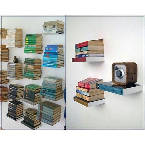 Niewidzialna półka na książki Legis - 3 kolory profesjonalne Regały i szafy