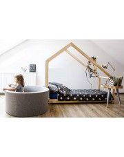 Łóżko młodzieżowe domek Miles 5X - 17 rozmiarów w sklepie Edinos.pl