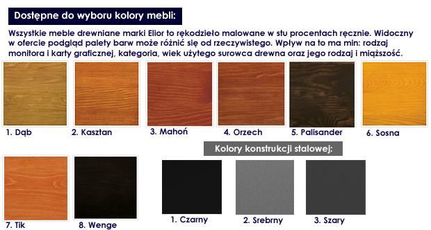 kolory ławki