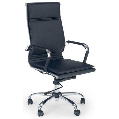 Zdjęcie produktu Fotel obrotowy Parker - czarny.