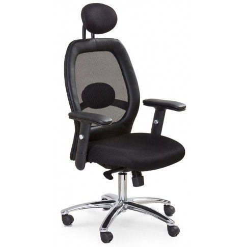 Zdjęcie produktu Fotel obrotowy Polux - czarny.