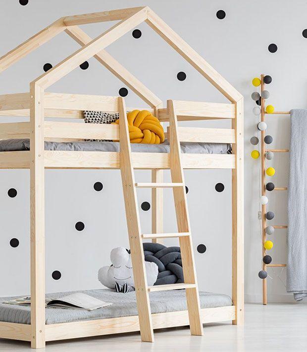Piętrowe dwuosobowe łóżko domek Miles 6X