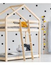 Piętrowe łóżko domek Miles 6X - 11 rozmiarów w sklepie Edinos.pl