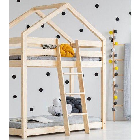 Zdjęcie produktu Piętrowe łóżko domek Miles 6X - 11 rozmiarów.