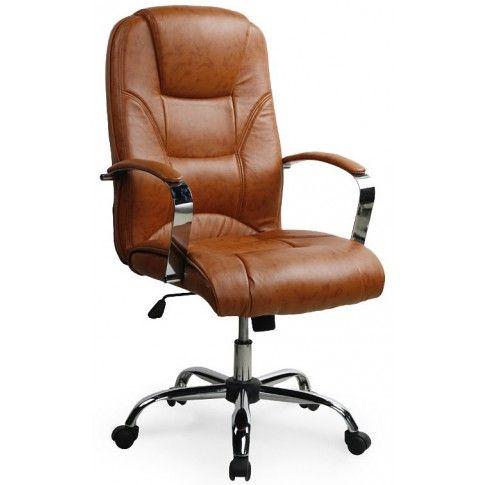 Zdjęcie produktu Fotel obrotowy Ramir - brązowy.