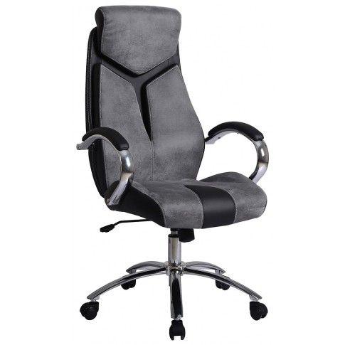 Zdjęcie produktu Fotel obrotowy Xavier - popiel.