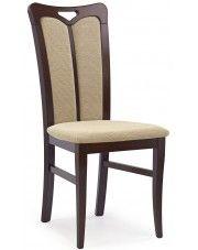 Krzesło drewniane Jonker - ciemny orzech