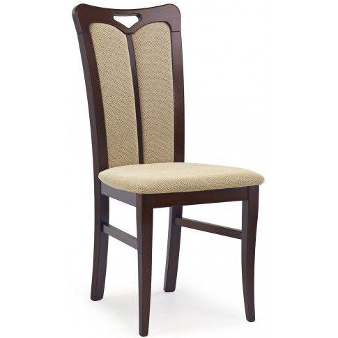 Zdjęcie produktu Krzesło drewniane Jonker - ciemny orzech.
