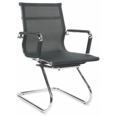 Zdjęcie produktu Fotel konferencyjny Toran - czarny.