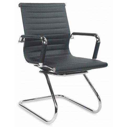 Zdjęcie produktu Fotel konferencyjny Miglin - czarny.