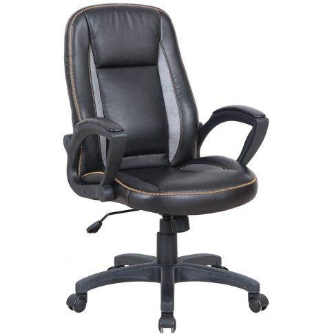 Zdjęcie produktu Fotel obrotowy Walder - czarny.