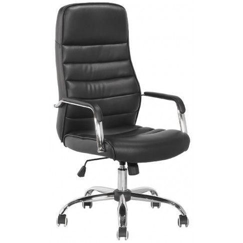 Zdjęcie produktu Fotel obrotowy Hontar - czarny.