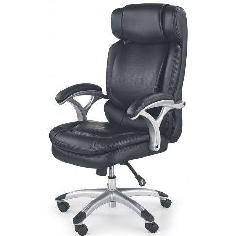 Zdjęcie produktu Fotel obrotowy Samson - czarny.