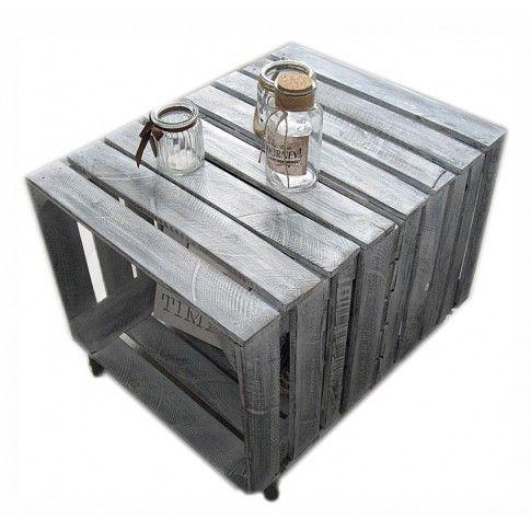 Zdjęcie produktu Skandynawski stolik kawowy Palletis 4X - 19 kolorów.