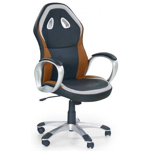 Zdjęcie produktu Fotel obrotowy Milter - czarny.