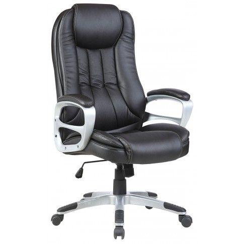 Zdjęcie produktu Fotel obrotowy Hosper - czarny.