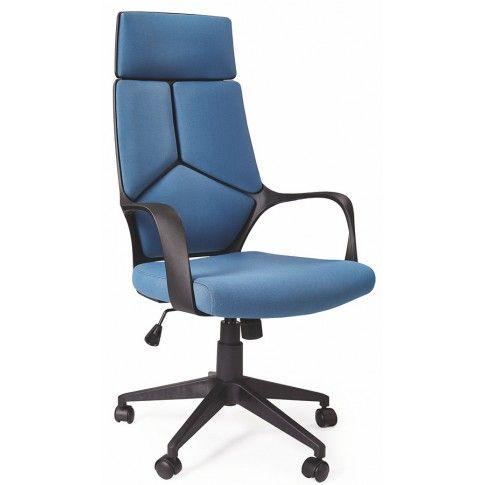 Zdjęcie produktu Fotel obrotowy Viver - niebieski.