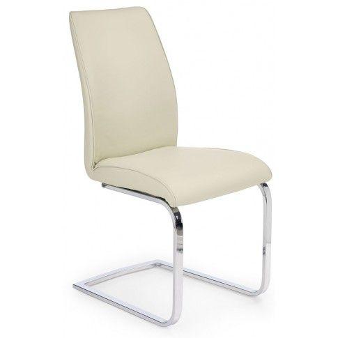 Zdjęcie produktu Krzesło metalowe Vincent - kremowe.