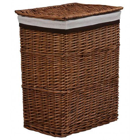 Zdjęcie produktu Kosz wiklinowy na pranie Riten - brąz.