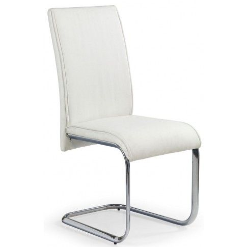 Zdjęcie produktu Krzesło metalowe Lidan - białe.