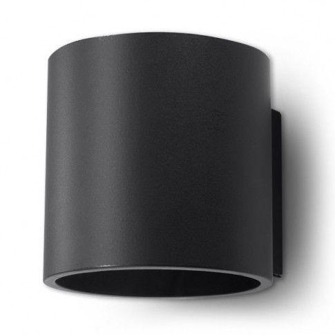 Zdjęcie produktu Nowoczesny kinkiet halogenowy E713-Orbil - czarny.