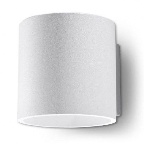 Zdjęcie produktu Ledowy kinkiet do salonu E713-Orbil - biały.