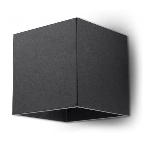 Zdjęcie produktu Nowoczesny kinkiet LED E716-Quas - czarny.