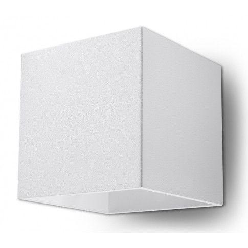 Zdjęcie produktu Ledowy kinkiet do salonu E716-Quas - biały.