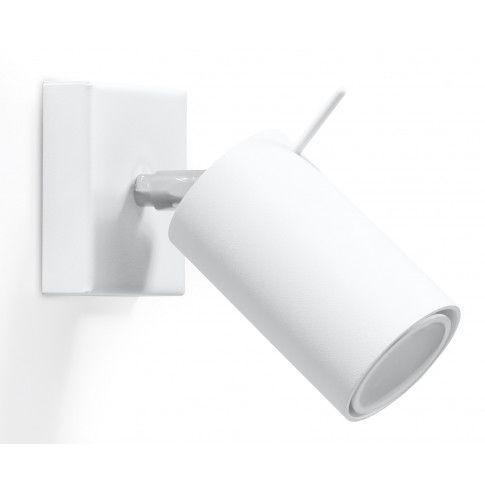 Zdjęcie produktu Minimalistyczny kinkiet regulowany E720-Rins - biały.