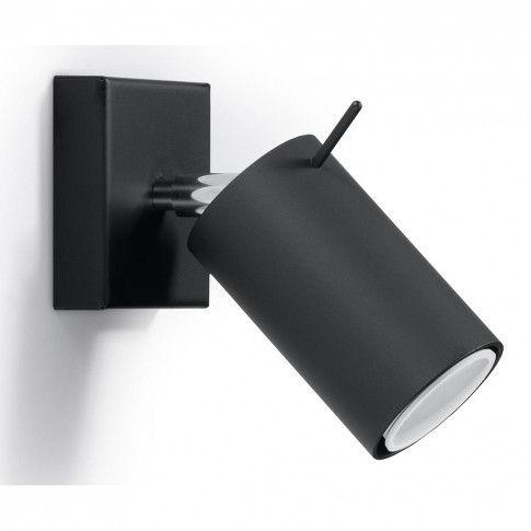 Zdjęcie produktu Nowoczesny kinkiet halogenowy E720-Rins - czarny.