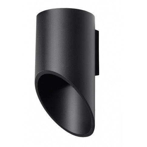 Zdjęcie produktu Minimalistyczny kinkiet ledowy E722-Peni - czarny.