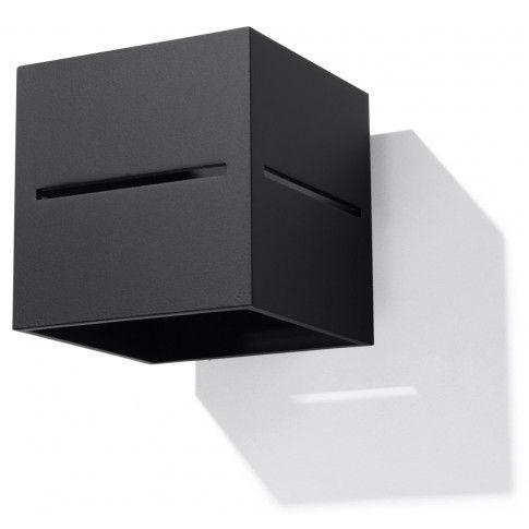 Zdjęcie produktu Minimalistyczny kinkiet E731-Lobi - czarny.