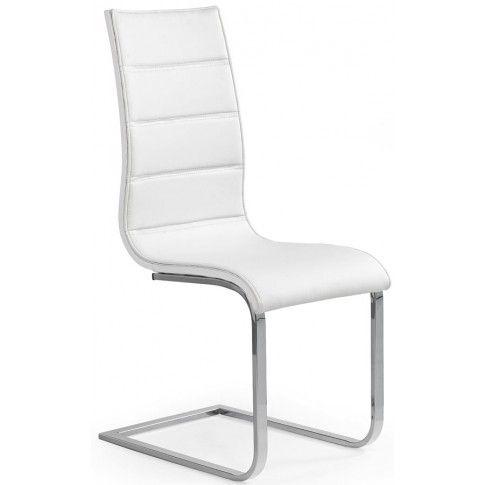 Zdjęcie produktu Krzesło metalowe Baster - białe.