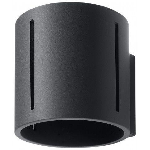 Zdjęcie produktu Nowoczesny kinkiet tuba E740-Iner - czarny.