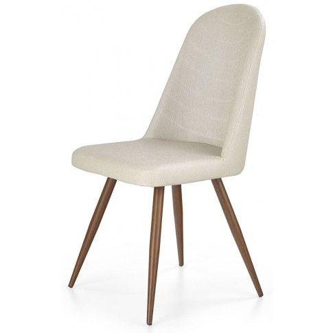 Zdjęcie produktu Skandynawskie krzesło Dalal - czereśnia antyczna.