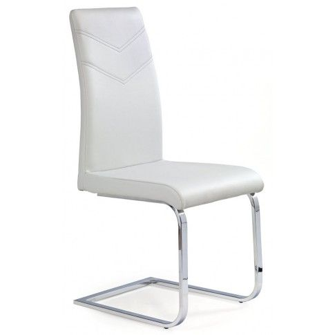 Zdjęcie produktu Krzesło metalowe Hiper - jasny popiel.