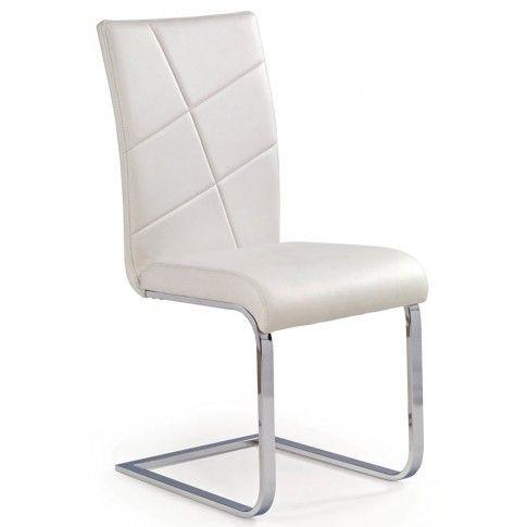 Zdjęcie produktu Krzesło metalowe Preis - białe.