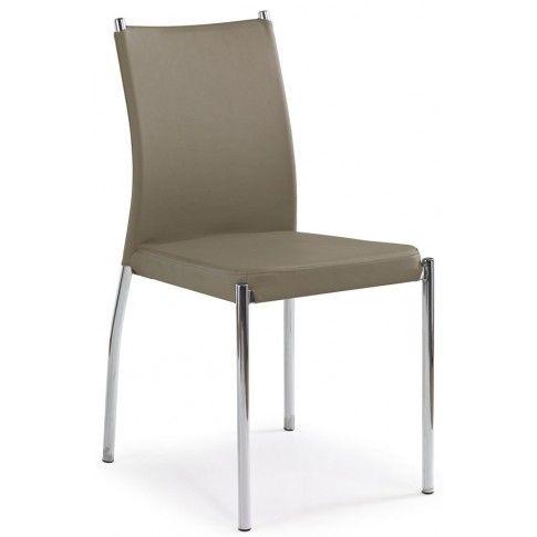 Zdjęcie produktu Krzesło metalowe Matan - ciemny beż.